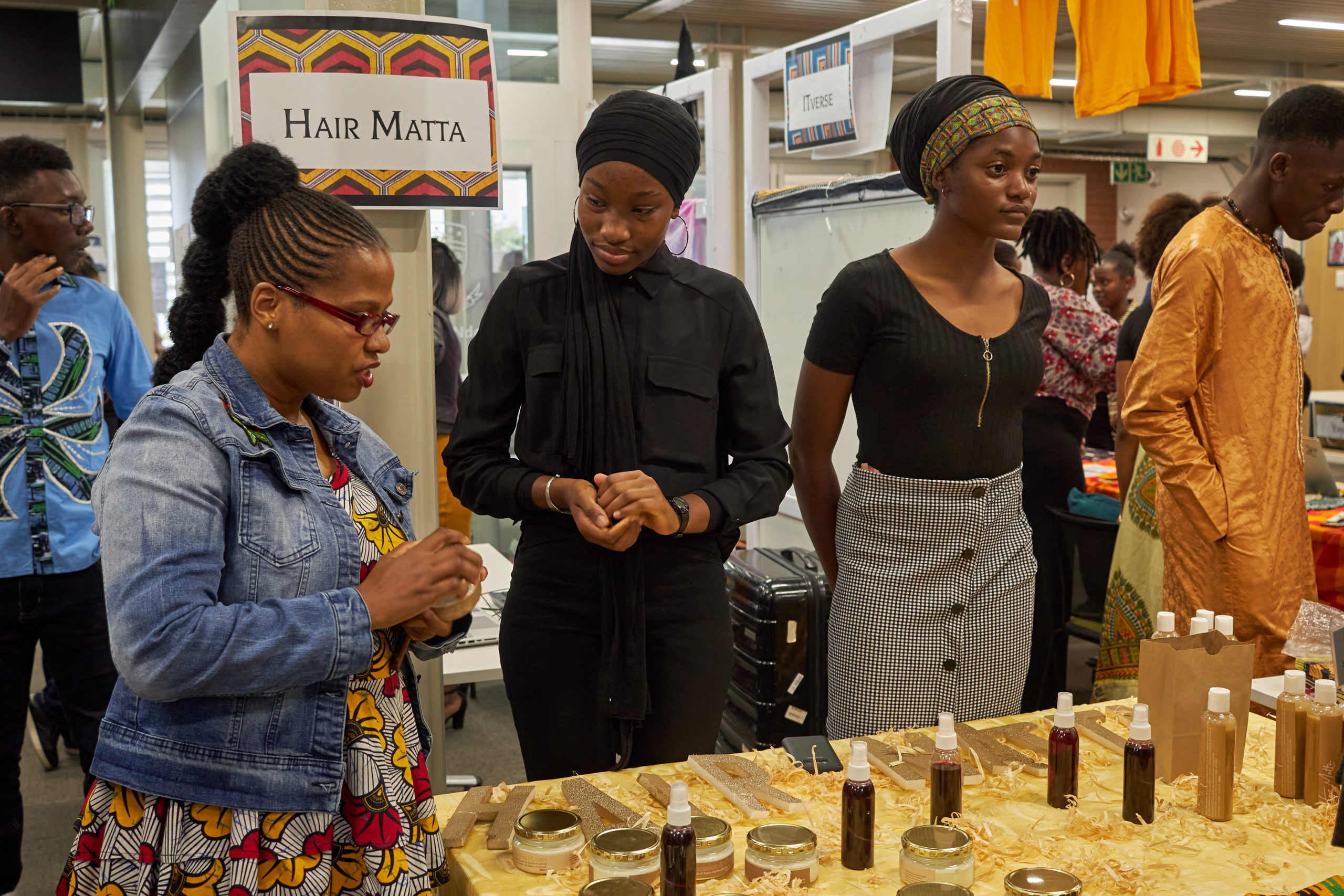 Students at the annual ALA Enterprise Festival